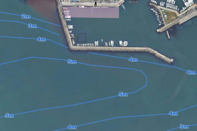 林崎漁港(タコが釣れるポイント)