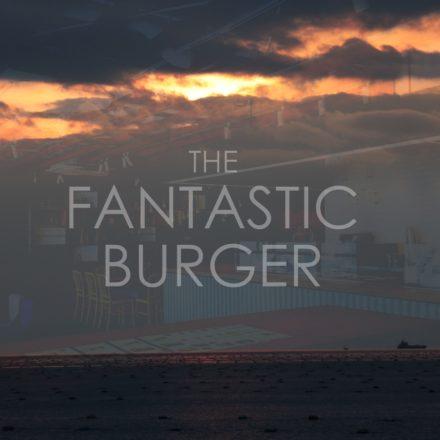 THE FANTASTIC BURGERの窓側席からの景色と店内の写真