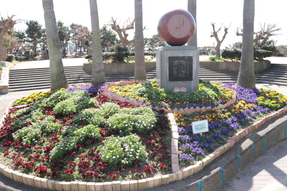公園に咲くたくさんの花