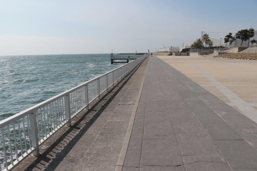 明石海浜ベランダ中央